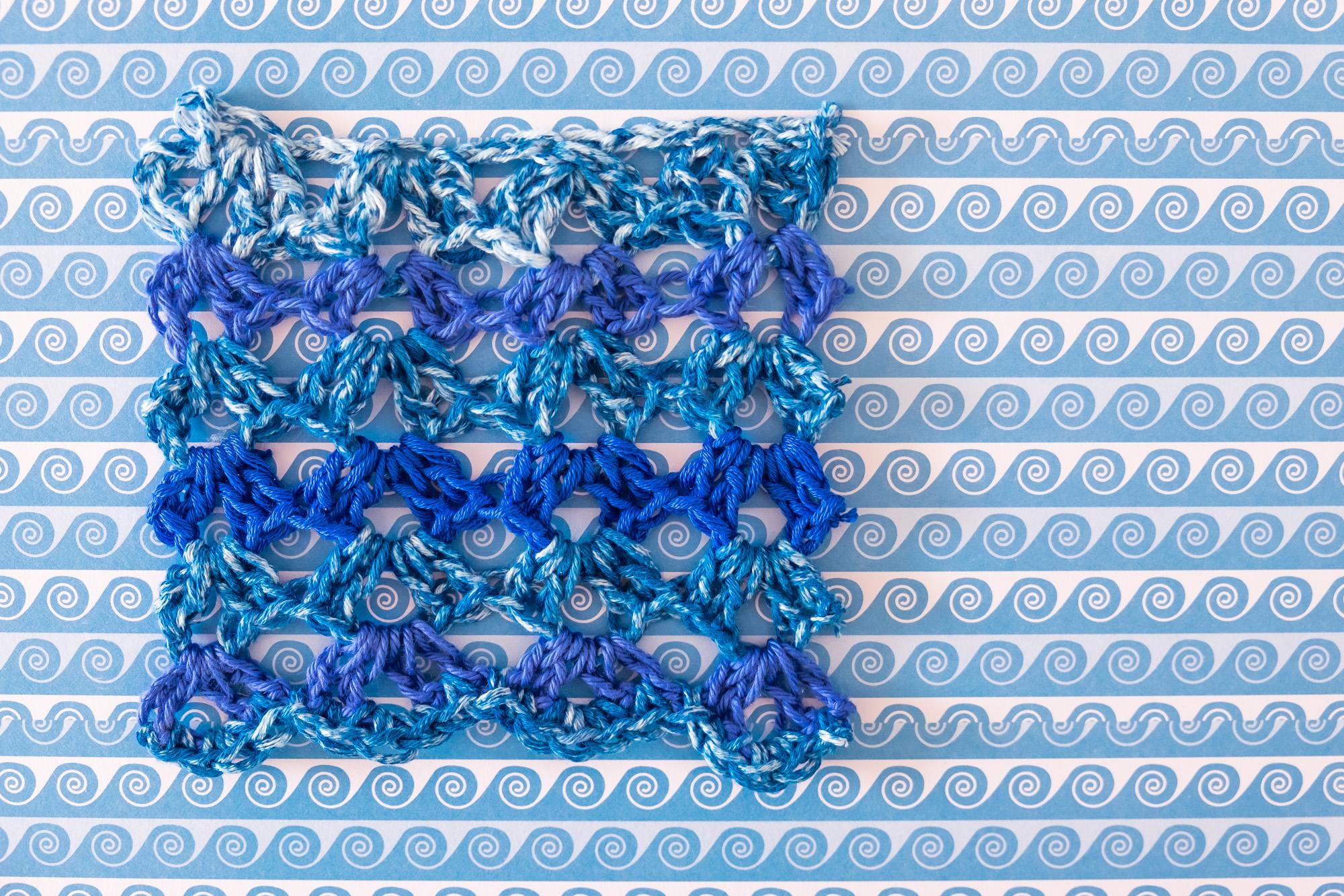 Blue Waves Crochet